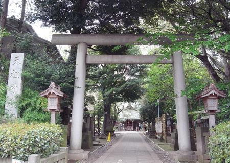 常盤台天祖神社1