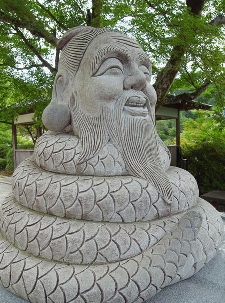 三室戸寺・宇賀神