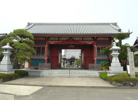 井戸寺・山門