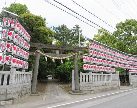 大鷲神社・花畑2