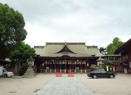 小倉八坂神社・社殿