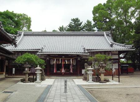 片埜神社・本殿