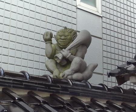 成学寺・風神