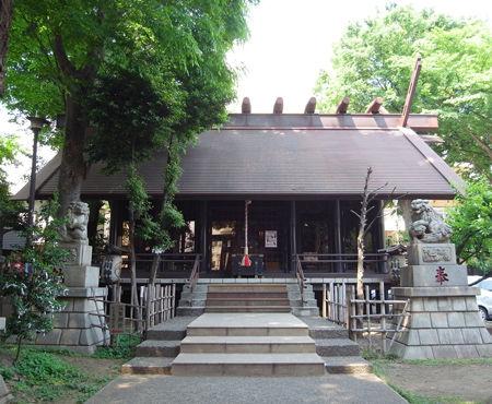 氷川神社・高円寺a