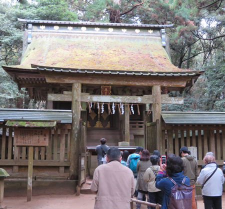 鹿島神宮・奥宮2