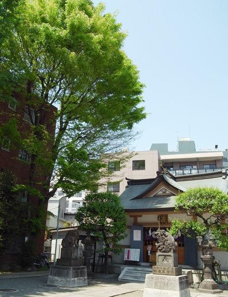 穏田神社4