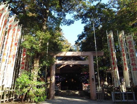 豊川茜稲荷神社・社殿