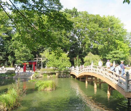 八幡・洗足池1