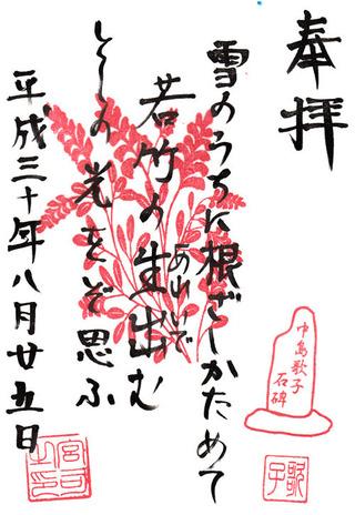 北野神社・牛天神・中島歌子