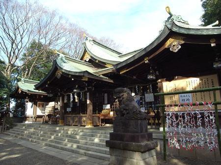 検見川神社8