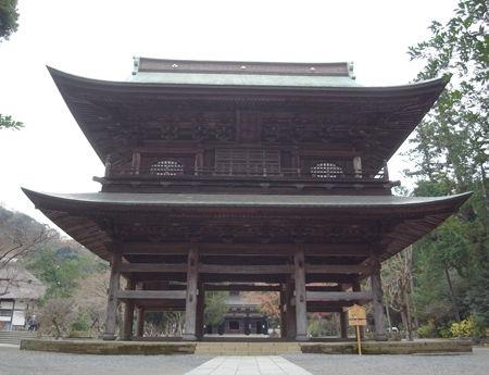 円覚寺151223三門