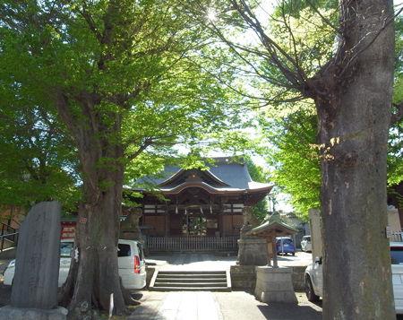 八幡神社・滝野川72