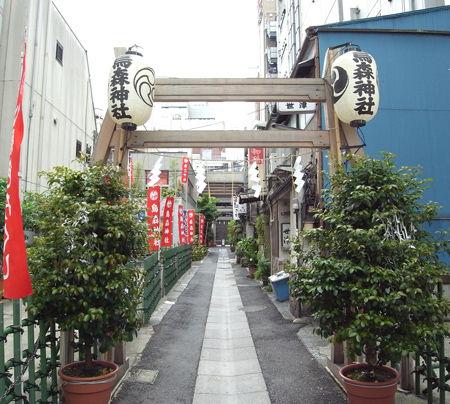 烏森神社・参道