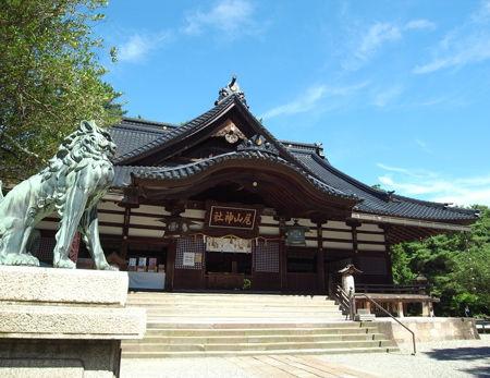 尾山神社1