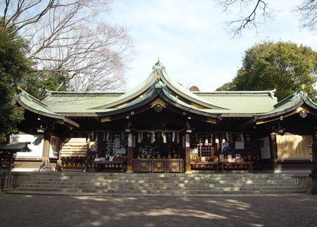 検見川神社0