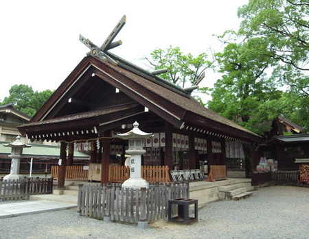 大鳥大社・社殿