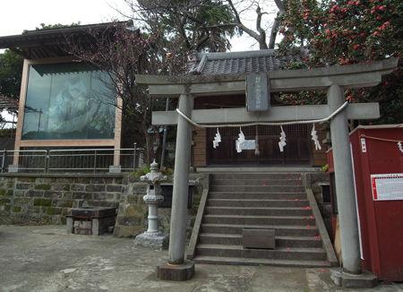 海南神社・高家1