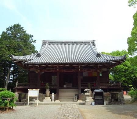 萩原寺・本堂