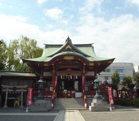 羽田神社・社殿