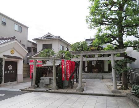 北野神社・牛込1