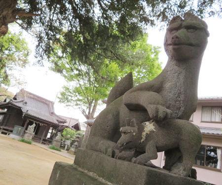 矢切神社10