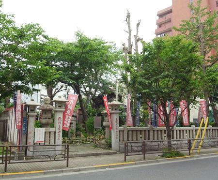 吉原神社奥宮8