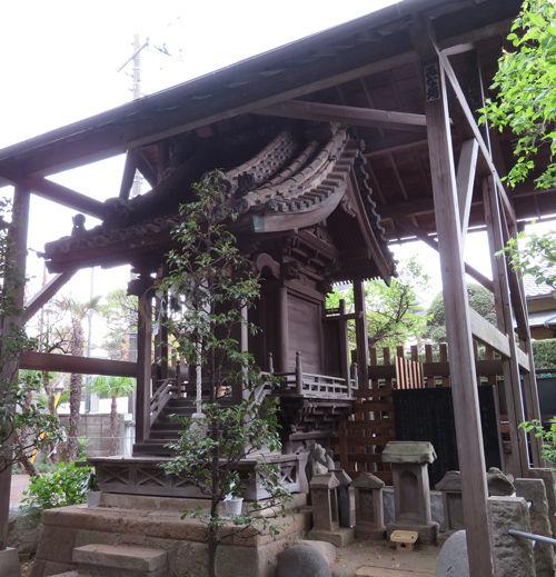 矢切神社0