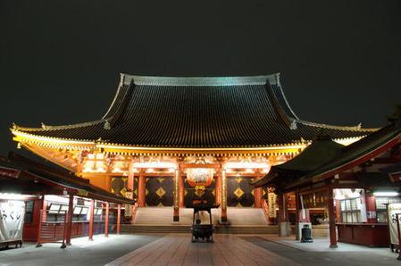 浅草寺・夜