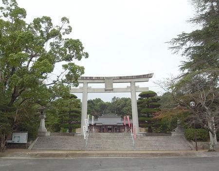 山口護国神社2