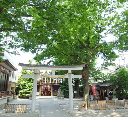 雑司が谷大鳥神社4