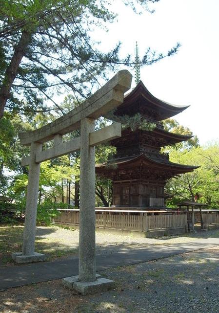 三明寺・三重塔