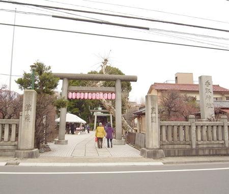 香取神社・小村井8