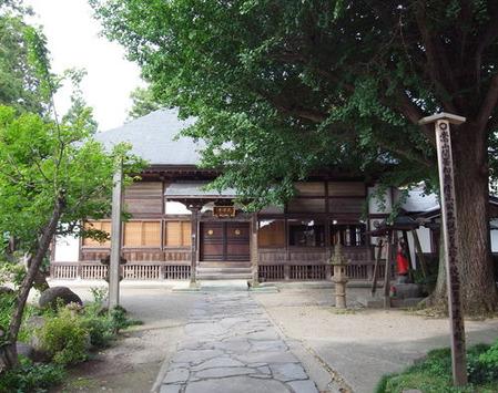 天沢寺・本堂