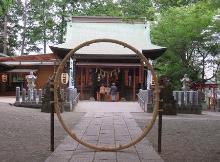 星川杉山神社・夏越9