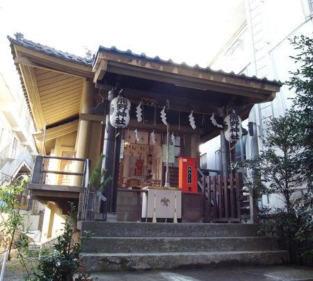 飯倉熊野神社-(2)