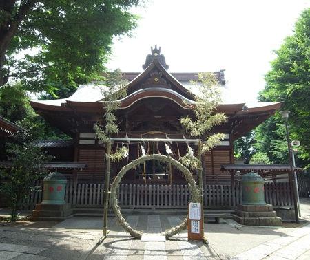 八幡神社・滝野川33