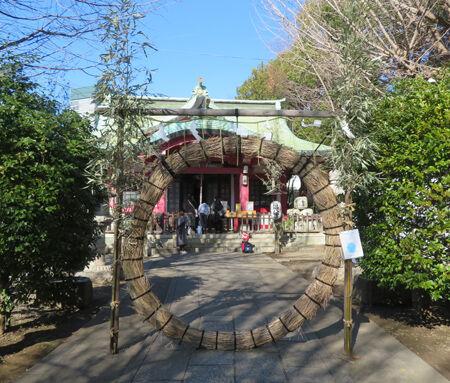 八幡神社・市谷亀岡5