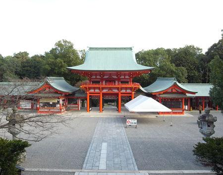 近江神宮・境内