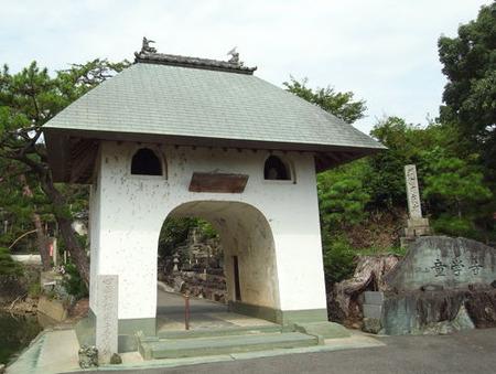 童学寺・山門