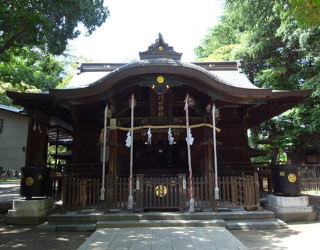 川口神社・拝殿