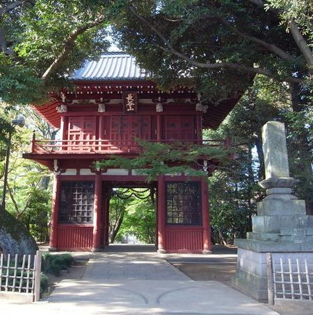 本土寺・門