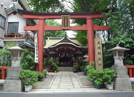 三崎稲荷神社・水道橋