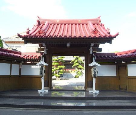 東樹院山門