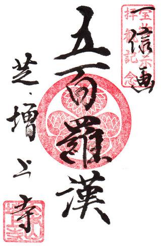 増上寺・五百羅漢