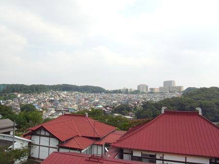 長楽寺・境内からの眺め