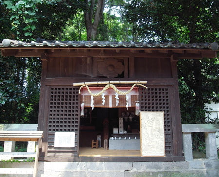 絹笠神社9