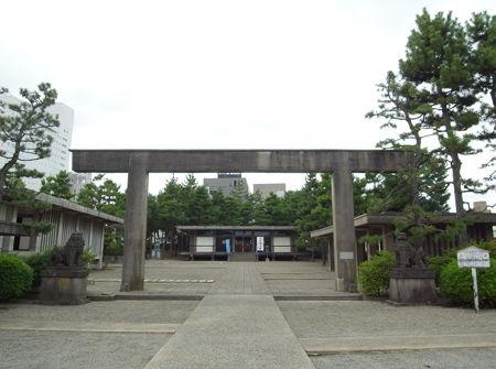 福井神社・二の大鳥居