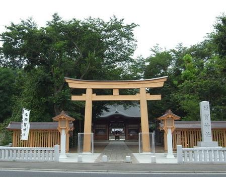 小山須賀神社・鳥居
