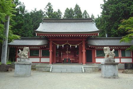 冨士御室浅間神社・社殿