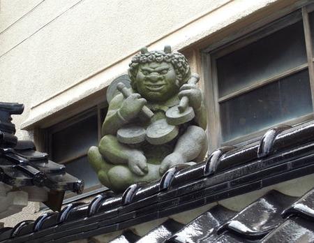 成学寺・雷神